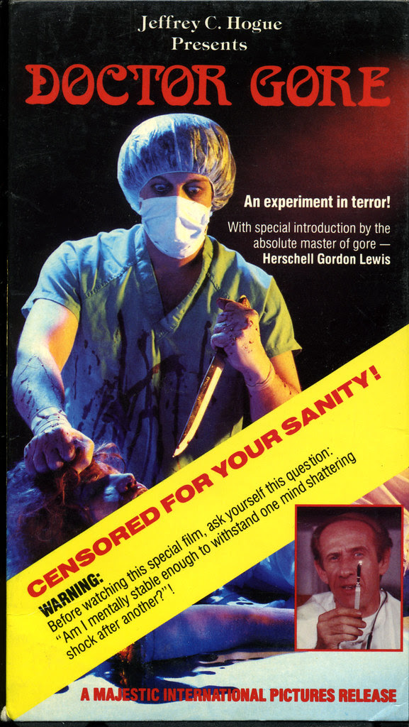 Doctor Gore (VHS Box Art)