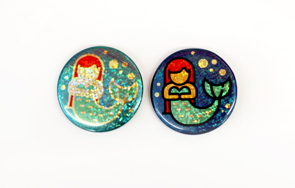 Tips For Designing Diy Holographic Buttons People Power Press For