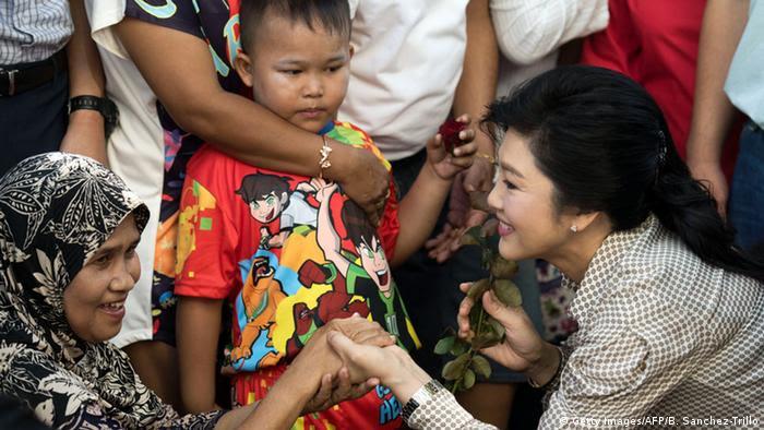 Thailand Referendum Abstimmung Yingluck Shinawatra (Getty Images/AFP/B. Sanchez-Trillo)