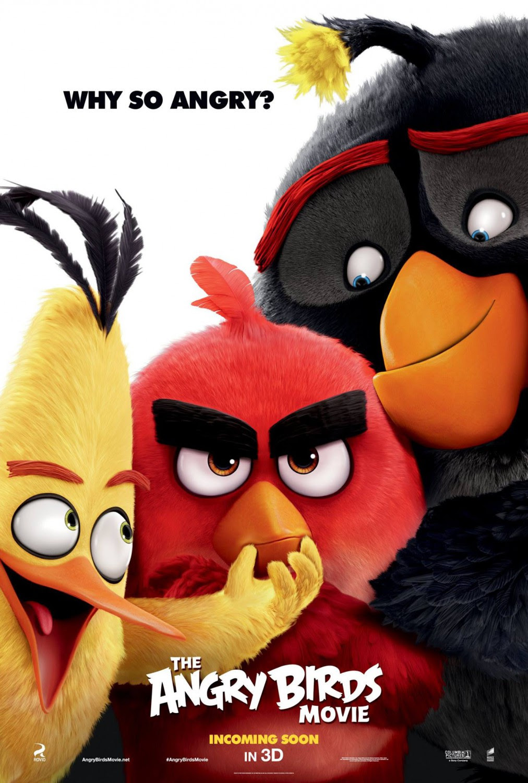 Resultado de imagen para angry birds movie poster 2016