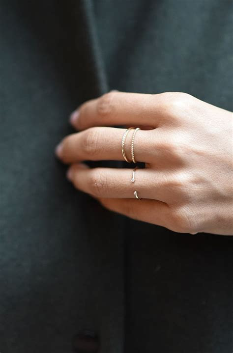 1000  ideas about Stackable Diamond Rings on Pinterest