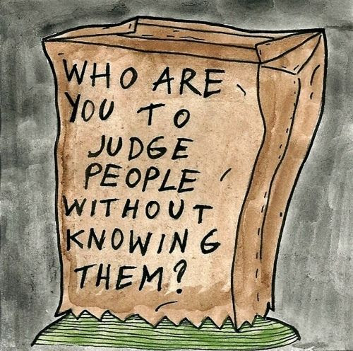 Who Are You To Judge Others Picture Quotes