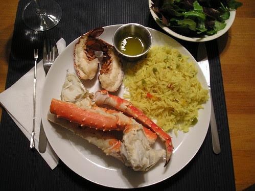 Pattes de Crabe et Queue de Homard