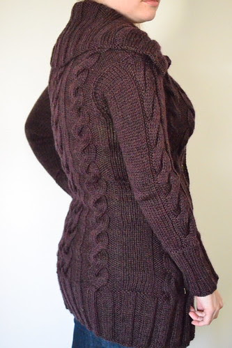 Meg's Sweater - Side