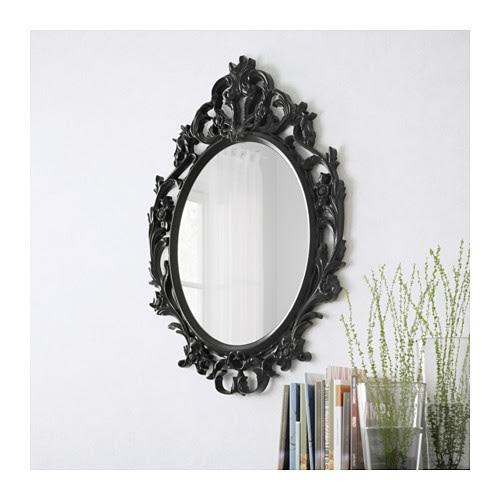 UNG DRILL Espelho IKEA Adequado para a maioria dos espaços, tendo sido testado e aprovado para usar na casa de banho.