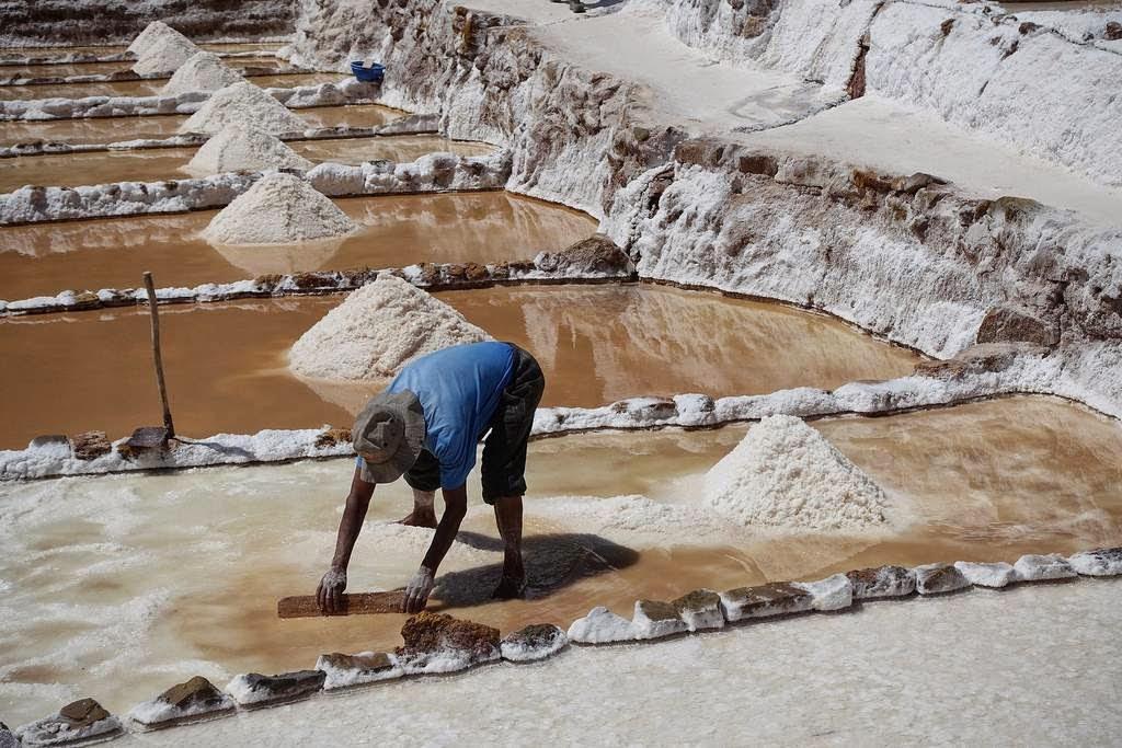 As belas Salinas de Maras encravadas nos penhascos peruanos 13