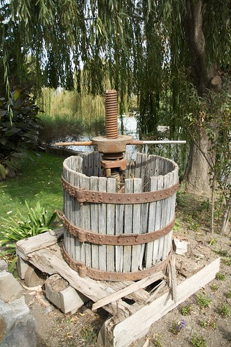 Cline Wine press