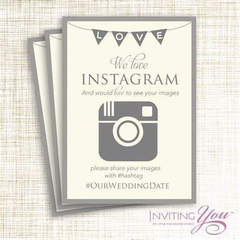 Wedding hashtag ? A popular wedding trend