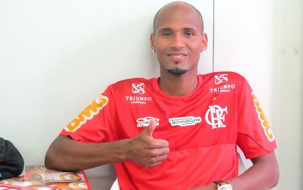 wellington silva Flamengo (Foto: Janir Junior / Globoesporte.com)