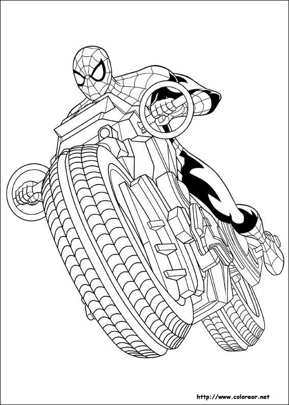 Dibujos Para Pintar Spiderman Dibujos Para Pintar