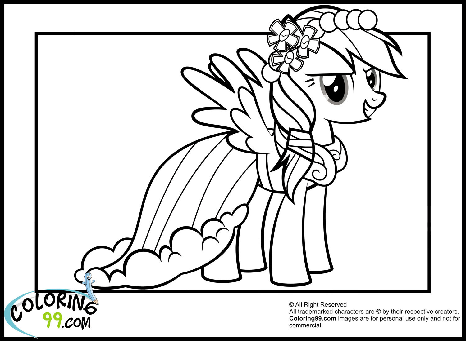 Rainbow Dash Equestria Girl Coloring Page At Getdrawingscom Free