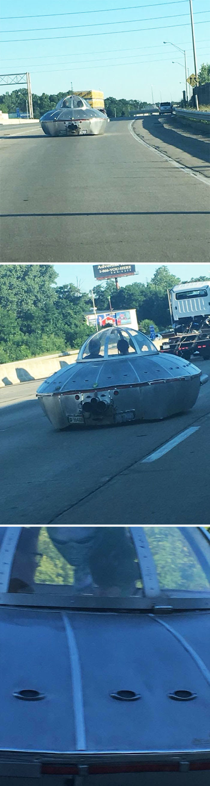 Was Driving On The Road Today And Was Cut Off By An Illegal Alien
