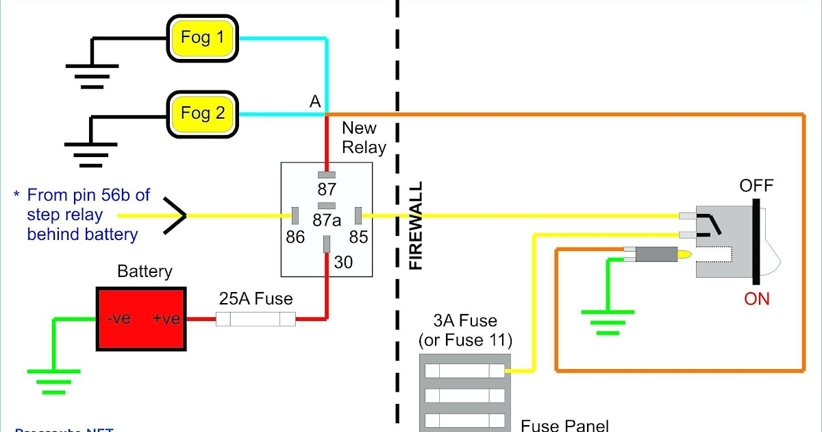 Wiring Diagram Fog Lights Without Relay