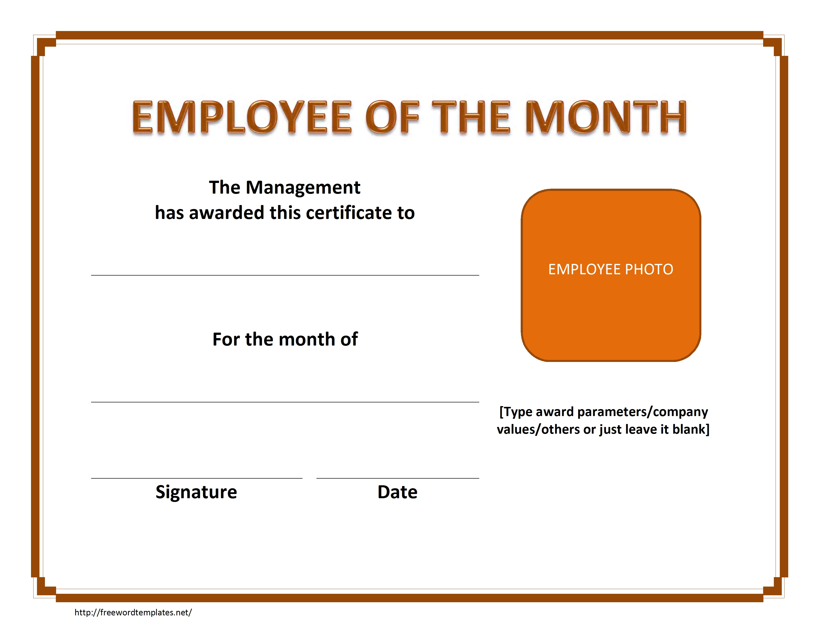 Employee Of The Month Letter from lh5.googleusercontent.com