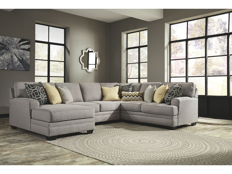 Signature Design By Ashley Living Room Laf Chaise Sectional 54907