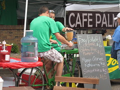 Pedal Powered Smoothies