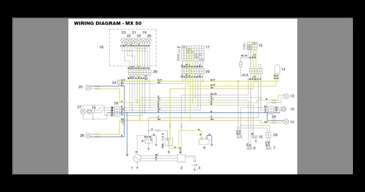 Yamaha Rs 100 Motorcycle Wiring Diagram