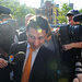 Fabrice P. Tourre, the former Goldman Sachs trader, entered federal court in Lower Manhattan on Monday.