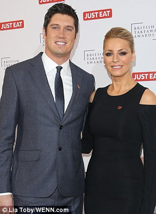 Kay  was found to have texted a model who nearly ended his marriage six years ago. Reports say he is to have crunch talks with wife Tess Daly (pictured)