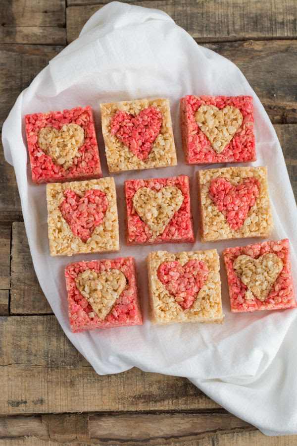 Heart Rice Krispie Treats Pictures, Photos, and Images for ...