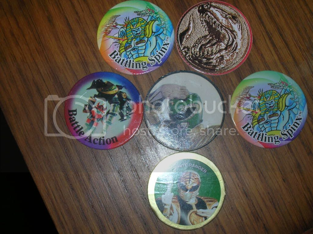 Image result for power ranger pogs