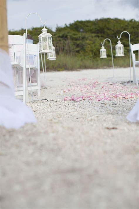 lantern aisle markers   Beach Wedding Decor   Pinterest