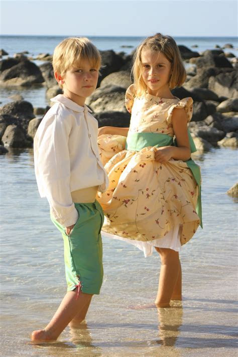 Stylish Outfits for Children at Weddings by Little