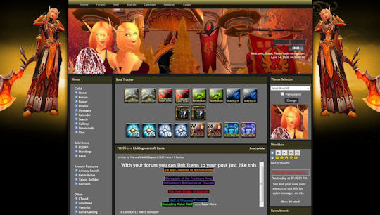 world of warcraft blood elf female. Themes included in all wow