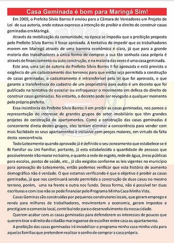 Sobre Casas Geminadas em Maringá-Paraná by lucimarbueno.blogspot.com