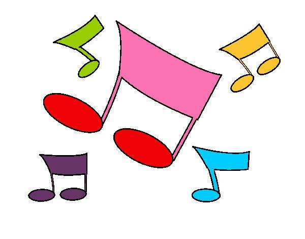 Dibujo De Notas Musicales Pintado Por Lionora En Dibujosnet El Día