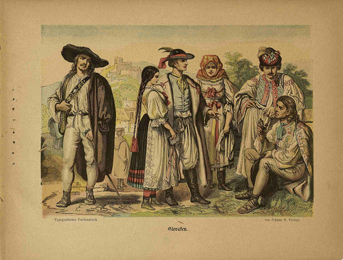 Oesterr-Ungarische Nationalitäten (Slovaken)