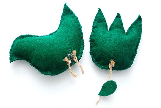 ekorodzice > Jak uszyć proste ozdoby świąteczne z filcu   naturalne i ekologiczne rodzicielstwo