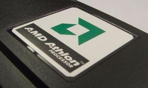 Slot-A Athlon logo on cartridge