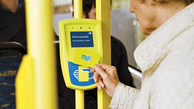 Is the Myki system able to be converted to allow using bank cards?