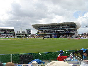 This is an image of the Kensington Oval, Barda...