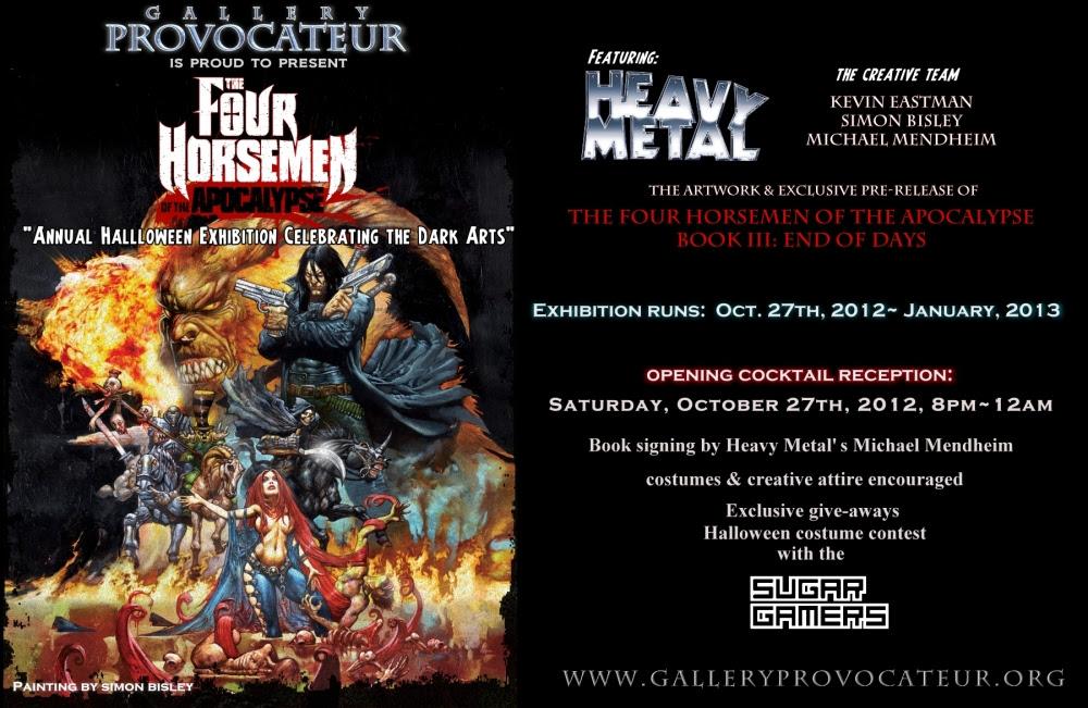 Gallery Provocateur Annual Halloween Dark Art Exhibition