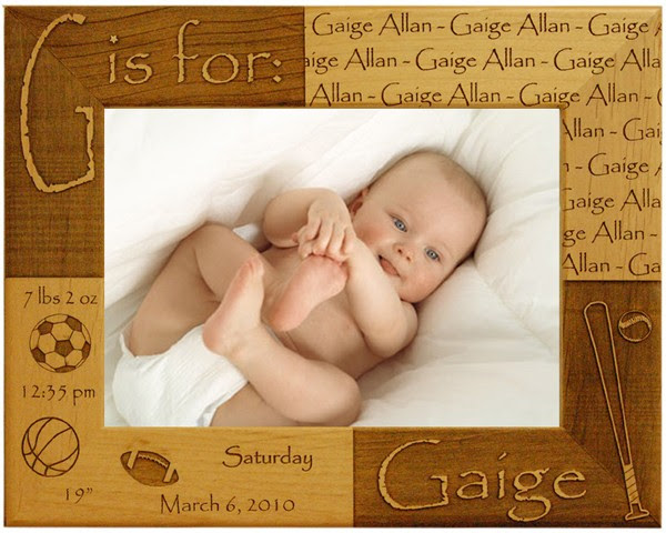 Baby Picture Frames Name Picture Frames
