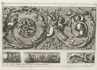 border motifs - 17th cent. designs