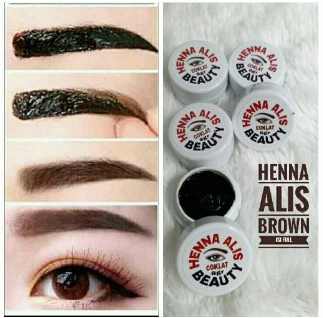 Merk Henna Alis Yang Bagus Dan Tahan Lama Beauty Lips
