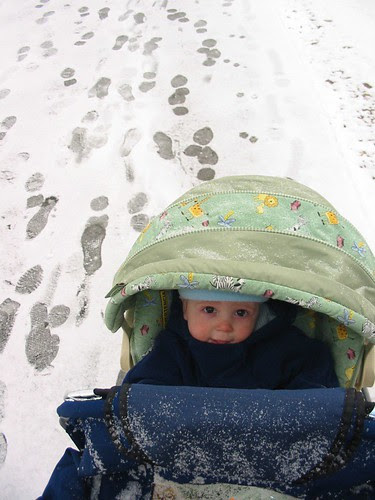 3B's first snow
