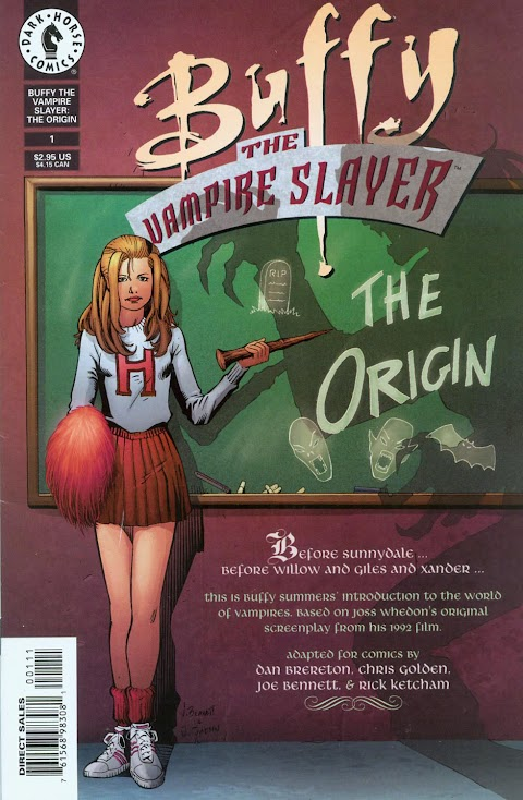 Buffy The Vampire Slayer The Origin Comic