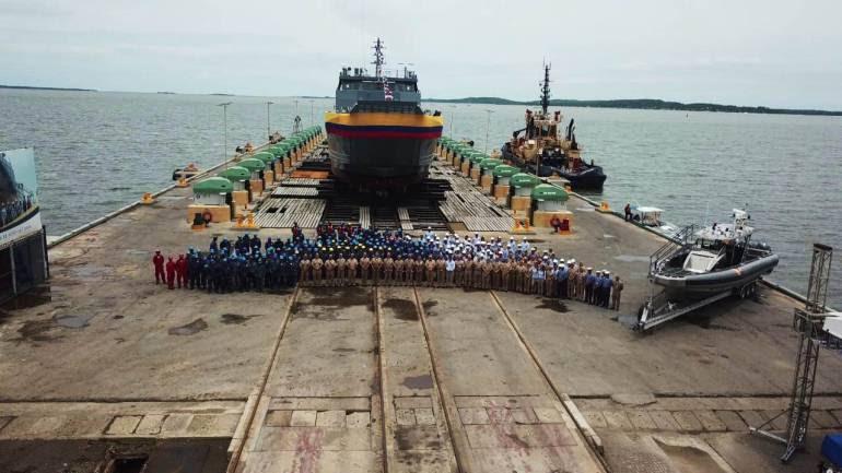 A la mar un nuevo buque construido en Cartagena: A la mar un nuevo buque construido en Cartagena