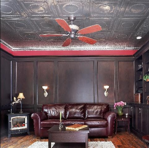 Metal Nail Up Ceiling Tiles   Tin Plated Steel   Solid Copper   Aluminum