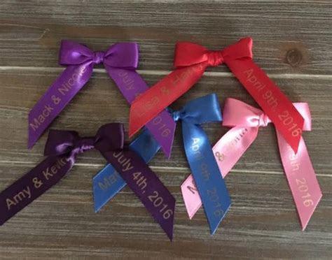Personalized Ribbon Bow, Wedding Garter, Bridal Garter