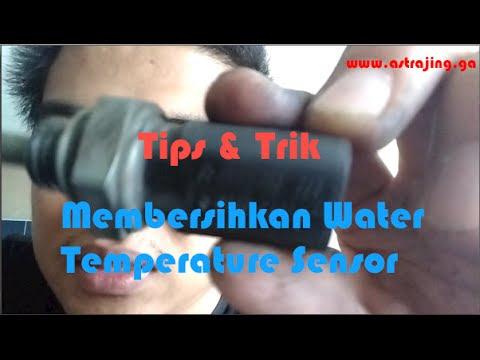 Membersihkan Water Temperature Sensor Mobil