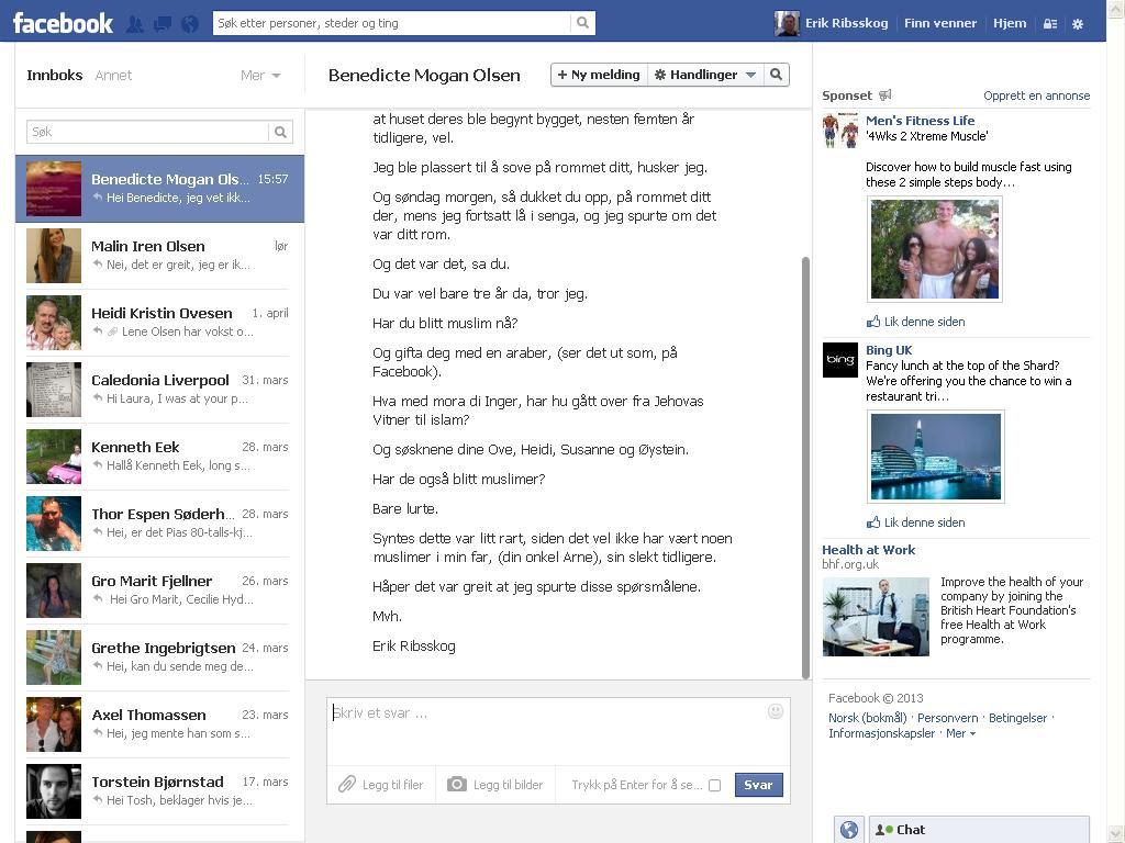 benedicte facebook 2