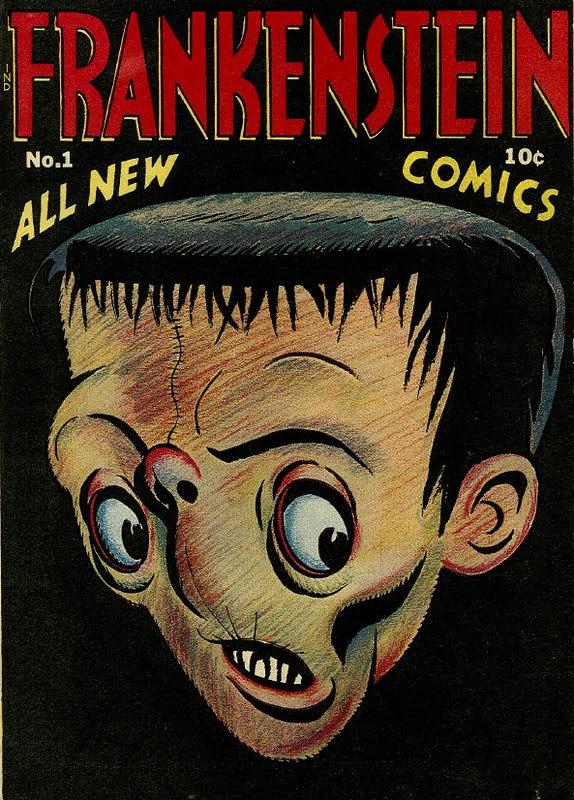 Prize Comics Frankenstein 1