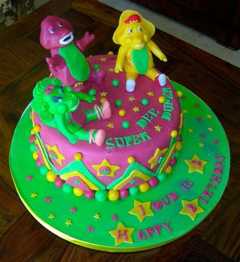 Barney Cakes ? Decoration Ideas   Little Birthday Cakes