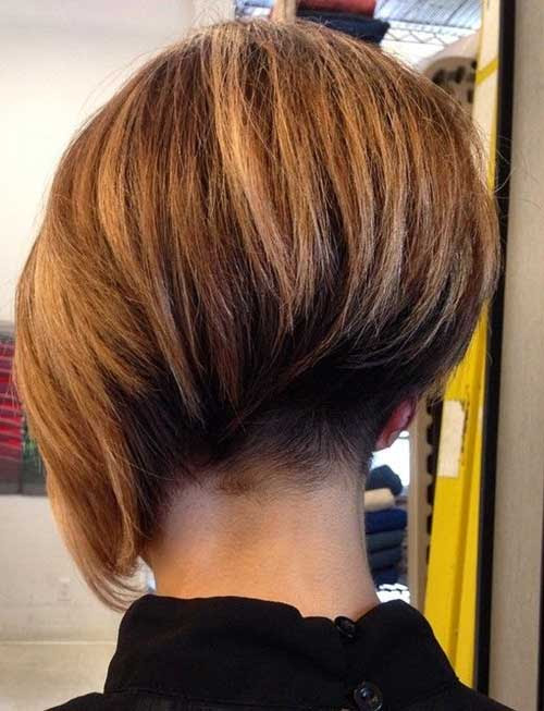 Undercut Bob Hairstyles Back View Blackhairstylecuts Haircuts