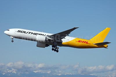 Southern Air (2nd)-DHL Boeing 777-FZB N714SA (msn 37988) PAE (Nick Dean). Image: 908115.